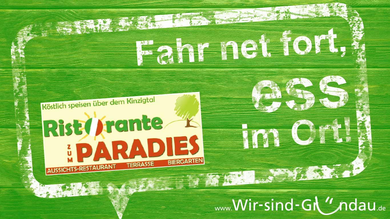 support your local Paradies