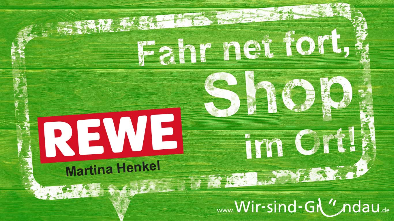 support your local rewe